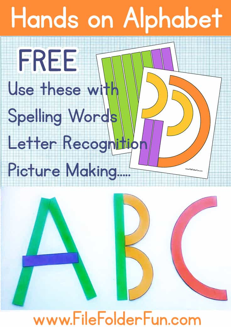 abc preschool games printable alphabet file folder 437