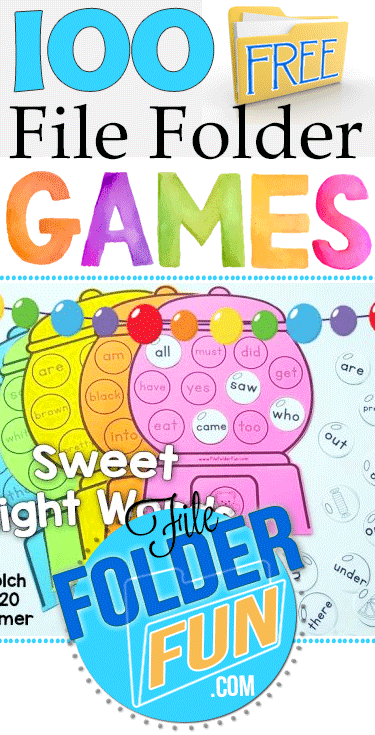 free file folder game templates - free file folder games by subject file folder fun